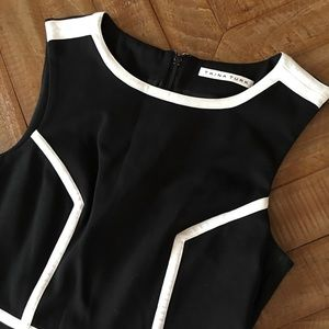Trina Turk Dresses - Trina Turk Women's Black & White Dress